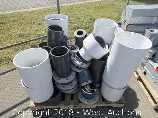 (60+) Assorted PVC Fittings