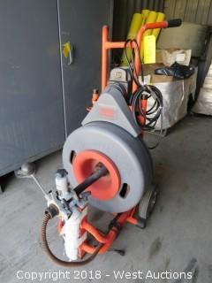 Ridgid Kollman K-7500 Drain Cleaning Machine