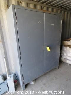 Durham Steel Cabinet 5'x6 1/2'x2'