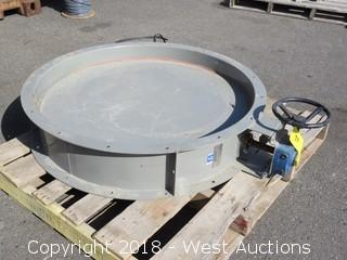 Heavy Duty Industrial Isolation Damper