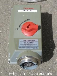 Appleton Interlock Receptacle