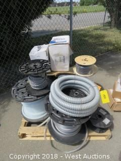 (10+) Spools of Tubing & Cable