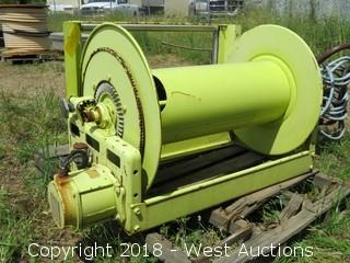 Hannay Motorized Hose Reel