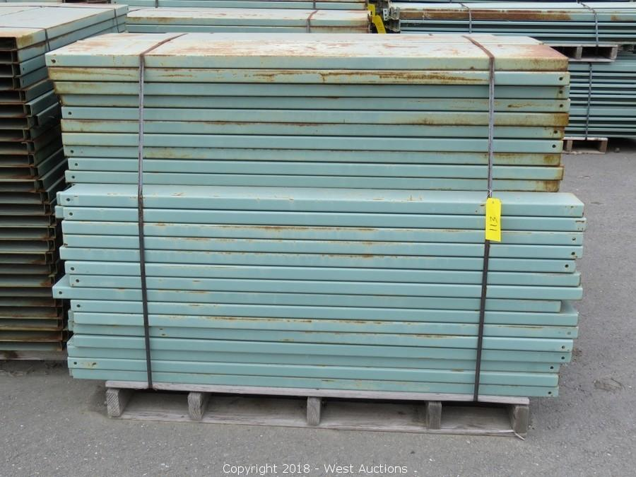 Auction of Pallet Racking Sections