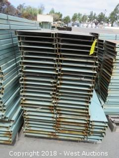Pallet of Metal Shelf Pallet Rack Decking
