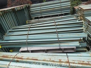 "Pallets of (54) 80"" Crossbeams"