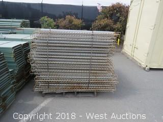 "Pallet Of (42) 65""x58"" Steel Grating"
