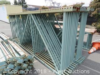 (9) 13' Pallet Racking Uprights
