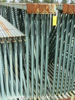 (5) 13' Pallet racking uprights
