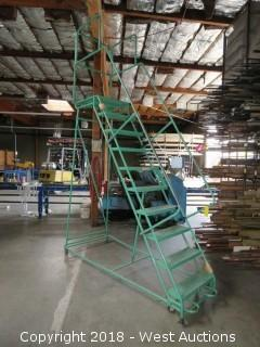 Ladder Industries 8' Portable Warehouse Ladder