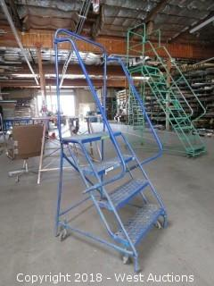 3' Portable Warehouse Ladder