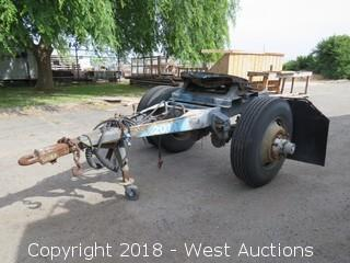 1960 Trailmobile 5th Wheel Trailer Dolly