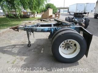 1974 Trailmobile 5th Wheel Trailer Dolly