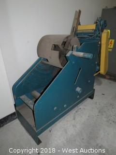 "Littell 2000LB Capacity 15"" Sheet Metal Uncoiler"