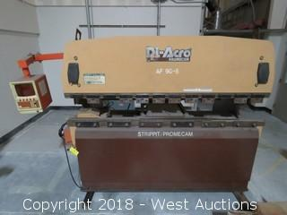 8' Di-Acro Promecam 80-25 Hydraulic Press Brake