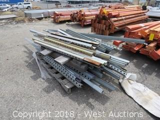 (1) Pallet of Steel Mounting Remnants