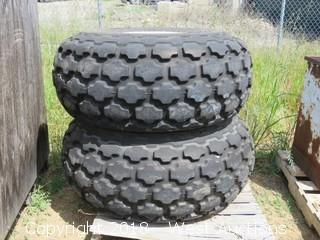 (2) Firestone Tubeless Tractor Tires
