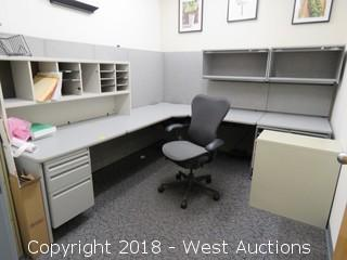 Bulk Lot; Filing Cabinets, Desk and Chair