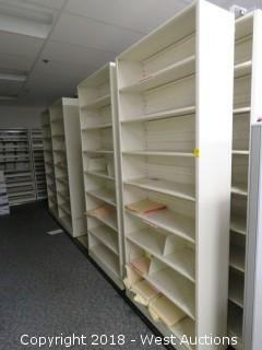 (9) File Storage Shelves