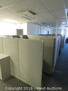 Bulk Lot: (3) Office Cubicles