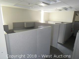 Bulk Lot: (2) Office Cubicles