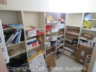 Supply Room Shelving