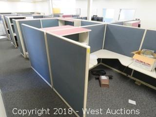 Modular Office Cubicle Stations
