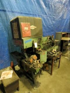 Metal Muncher 86 Ton Hydraulic Ironworker