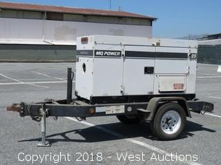 Whisperwatt Diesel Powered AC Generator with Trailer