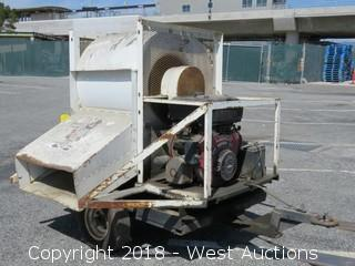 Trailer Mounted Air Blowing Machine