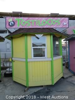 Fully Enclosed Concession Stand 8'x8'x10'