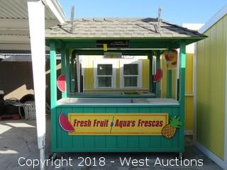 Concession Stand 8'x3'x10'
