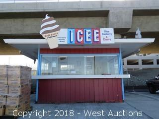 Concession Stand 14'x13'x8'