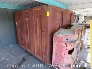 Steel Waste Bin  8'x7'x6'