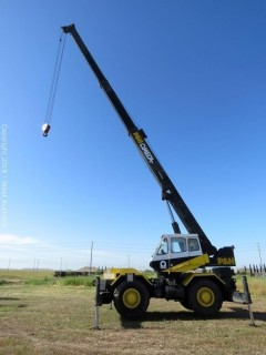 1989 P&H Omega 20-Ton All Terrain Crane
