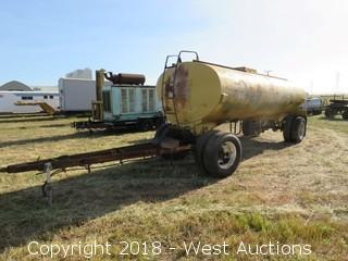 4,000 Gallon Water Trailer