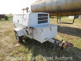 Trailer Mounted Sullivan Air Compressor