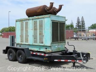 Detroit Diesel Power-Pack High Capacity Trailer Mounted Generator with Transformers