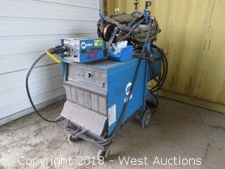 Miller Deltaweld 302 Wire Welder with Extended Reach Wire Feeder