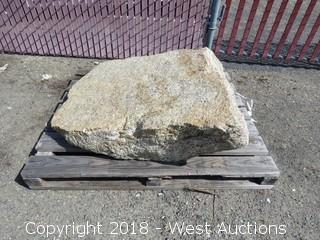 """47"""" x 33"""" Granite Rock"""
