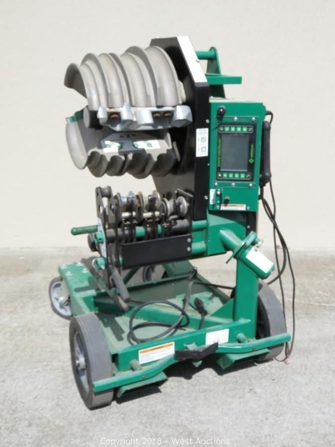 Greenlee 855GX IntelliBender Electric Bender