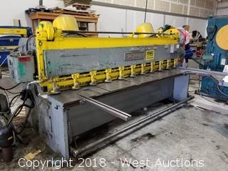 10' Cincinnati 1410 Hydraulic Shear