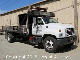1998 GMC C6500 Diesel 20' Flatbed Truck