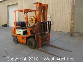 Toyota 5,700 LB Capacity Propane Forklift