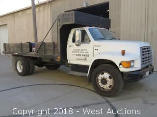 1998 Ford F-Series 16' Flatbed Truck