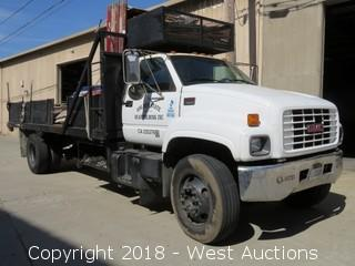 2000 GMC C6500 20' Flatbed Truck