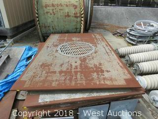 (1) Man Hole Trench Plate