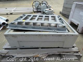 3.5'x2.5' Steel/Concrete Utility Box