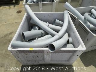 "Bulk Lot; 4""-6"" Electrical Conduit"