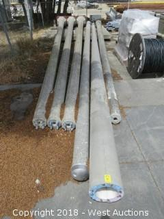 (6) 22' Concrete Utility Poles